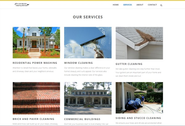 Website For Power Washing Companies