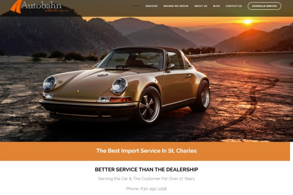 Auto Repair Web Design